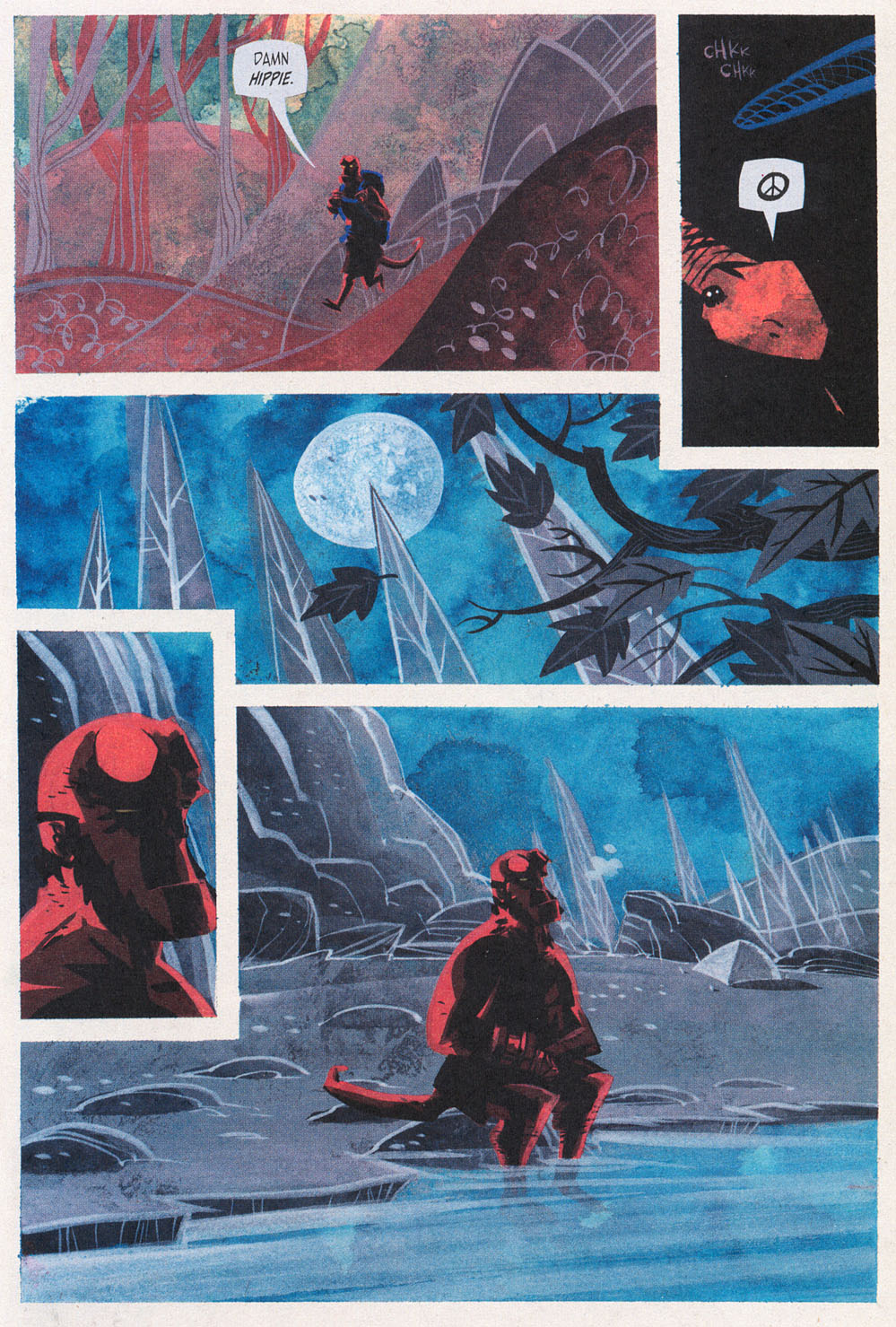 Read online Hellboy: Weird Tales comic -  Issue #5 - 17