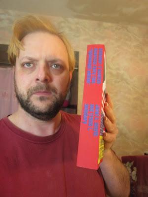Travis With Short Defender Book, Shot B