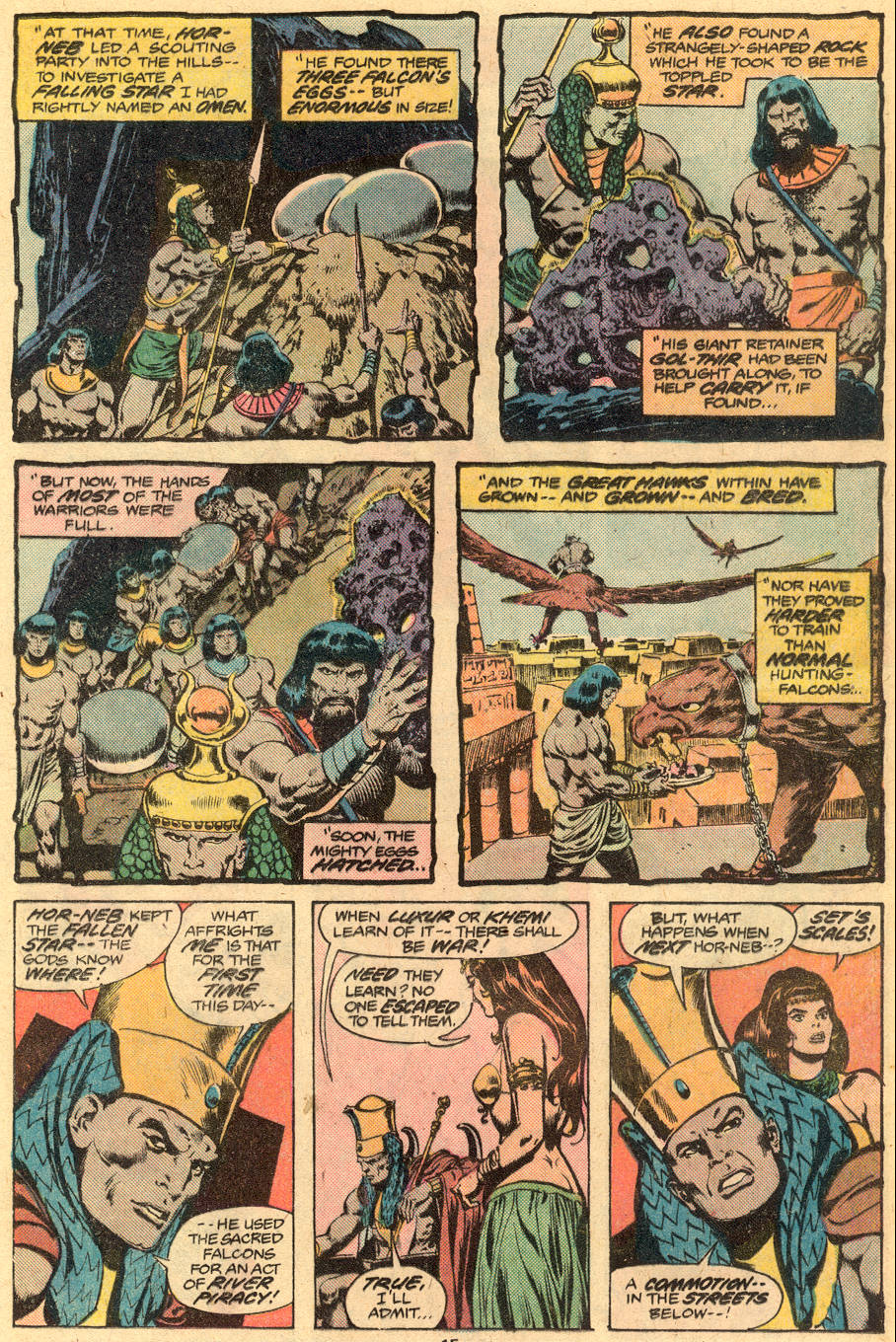 Conan the Barbarian (1970) Issue #76 #88 - English 10