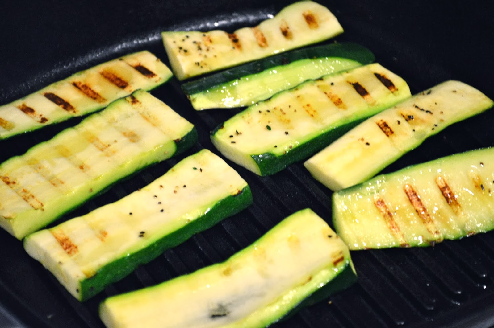 Kiss My Apron Cast Iron Grilled Zucchini