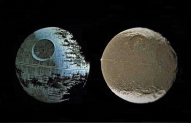 Is Saturn's Moon Iapetus an Artificial Alien Structure?