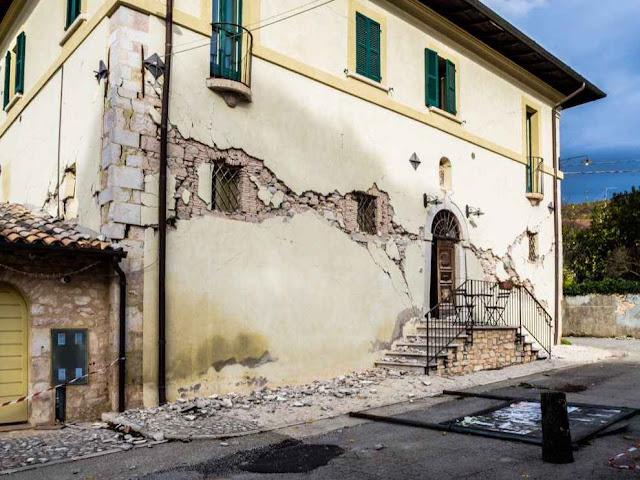 Os danos em Cássia foram generalizados.