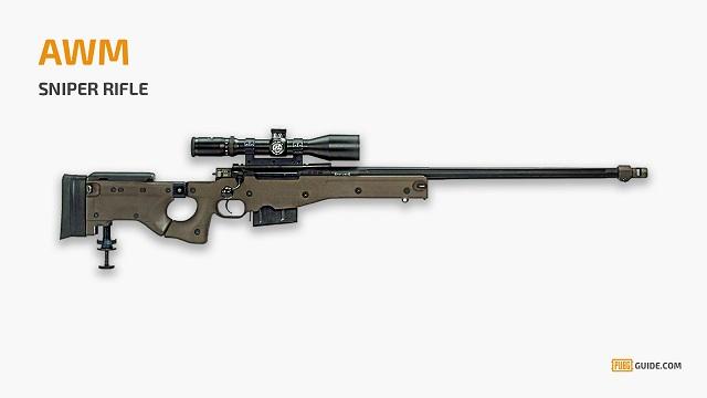 Senjata Sniper di PUBG Mobile yang Paling Mematikan