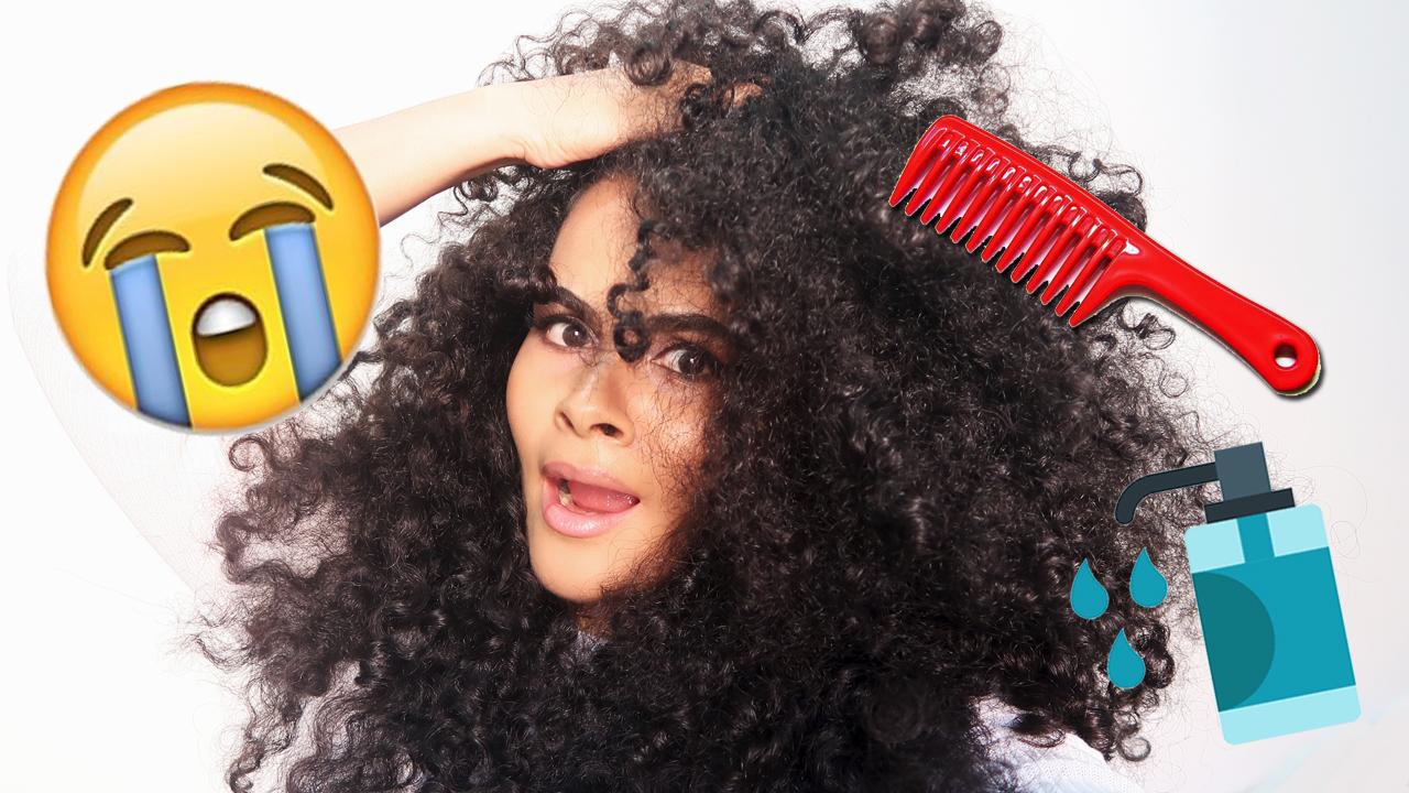 Coisas que você faz detonam os cabelos cacheados manual dos cachos