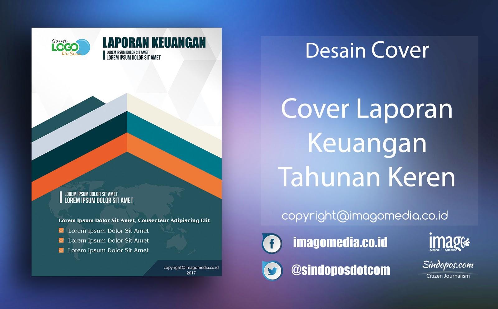 Download Template Desain Cover Laporan Keuangan Premium 2019 Imago Media Home Of Creativity