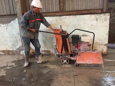 Khoan cắt bê tông tại huyện Long Phú
