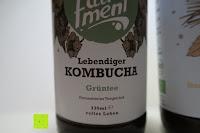 Grüntee: fariment - 3 Liter Original Bio Kombucha Tee Getränk natürlich fermentiert und nicht pasteurisiert / Rohkost (3er Mix)