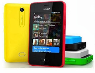 Nokia Asha 501(Black) for Rs.4106 Only at Rediff (Cheapest Price- Next Lowest Price Rs.4249-Amazone)