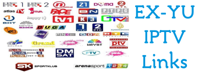 EXYU IPTV Links RTRS HTB SK3 OBN Play