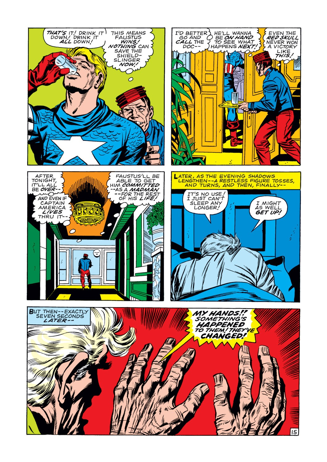 Captain America (1968) Issue #107 #21 - English 16