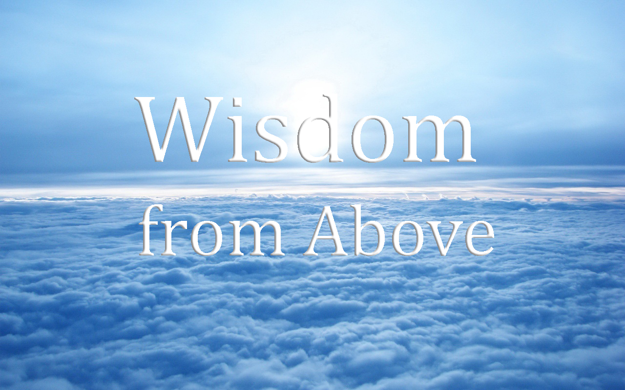 Today's Mass: WORLDLY WISDOM VERSUS HEAVENLY WISDOM. (Homily for May 16,  2016. Monday of the 7th week in Ordinary Time.)