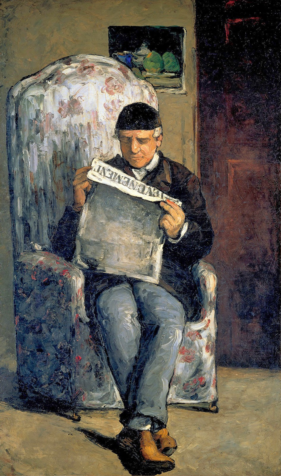 Paul Cézanne, Retrato del padre del artista (h.1866), National Gallery of Art, Washington