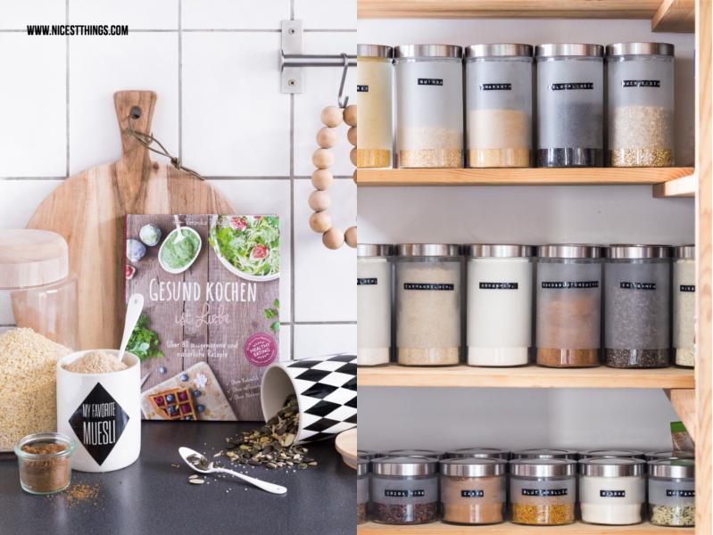 Ikea Droppar Vorratsglaeser / Gesund Kochen ist Liebe Kochbuch