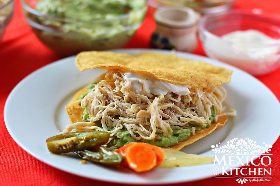 Mexico In My Kitchen Tostadas De La Siberia Authentic
