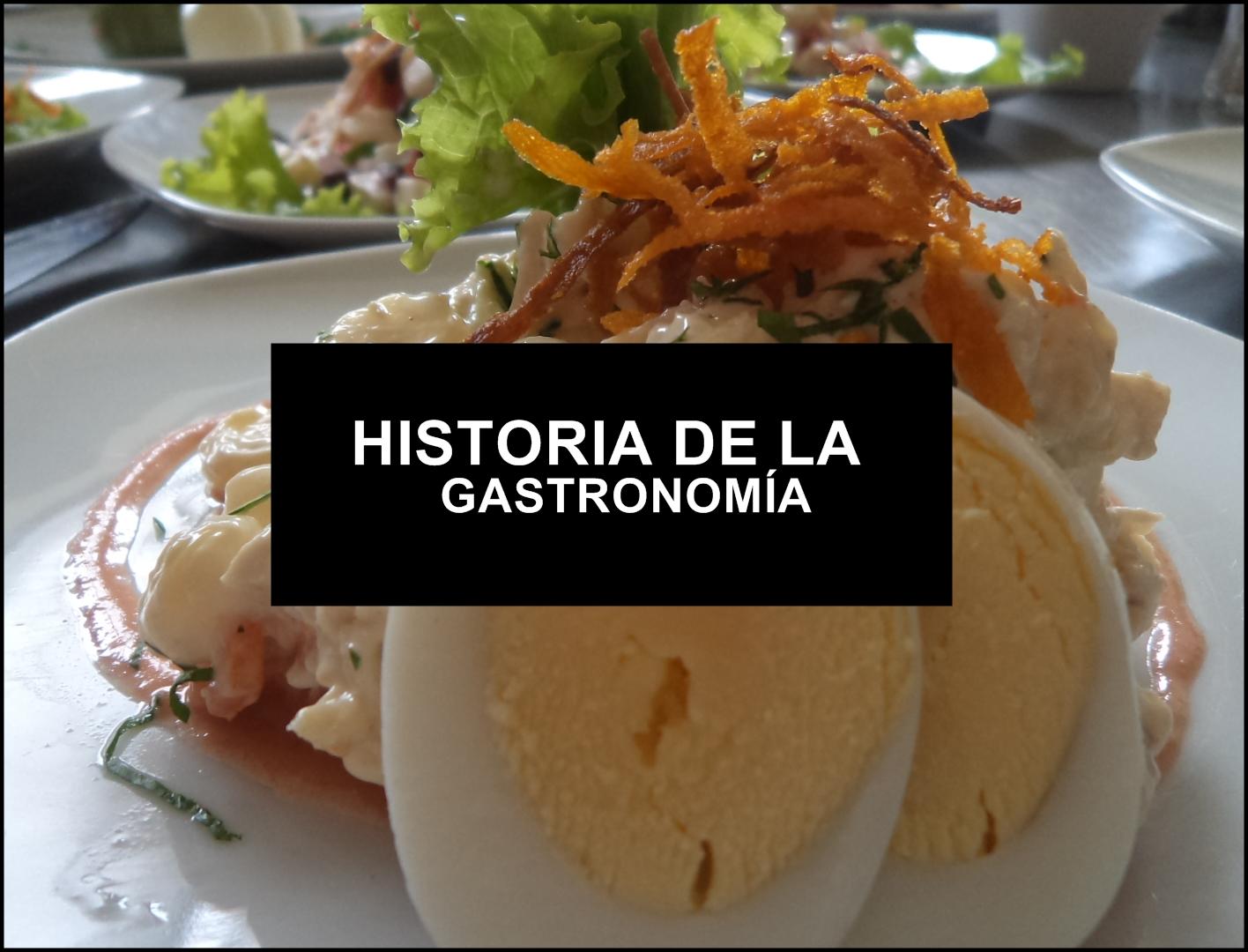 la cocina peruana a través de los años