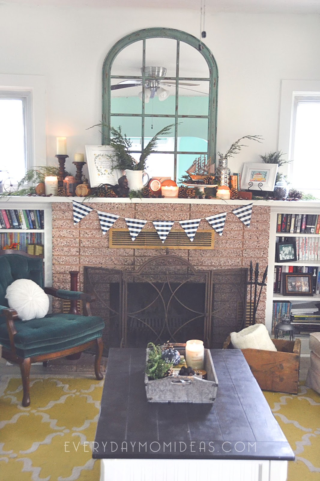 Fall Winter Home Decor Reveal 1928 Historic Bungalow Home