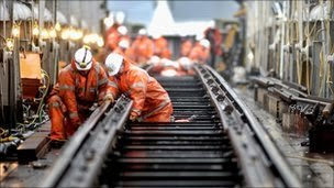 Rail workers in GO/RT