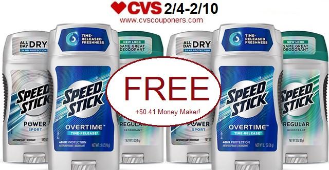 http://www.cvscouponers.com/2018/02/free-041-money-maker-for-speed-stick.html