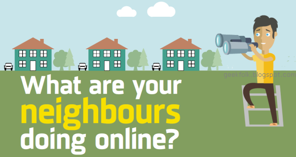 What are your neighbours doing online?