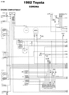 repair-manuals: Toyota Corona 1982 Wiring Diagrams