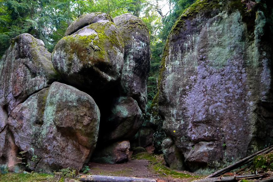 Góry Stołowe w Czechach