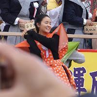 葵わかな&徳永えり 節分祭で豆まき!【大阪府寝屋川市・成田山不動尊】