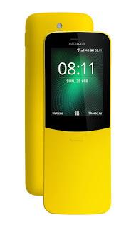 Nokia 8110 4G - Harga dan Spesifikasi Lengkap