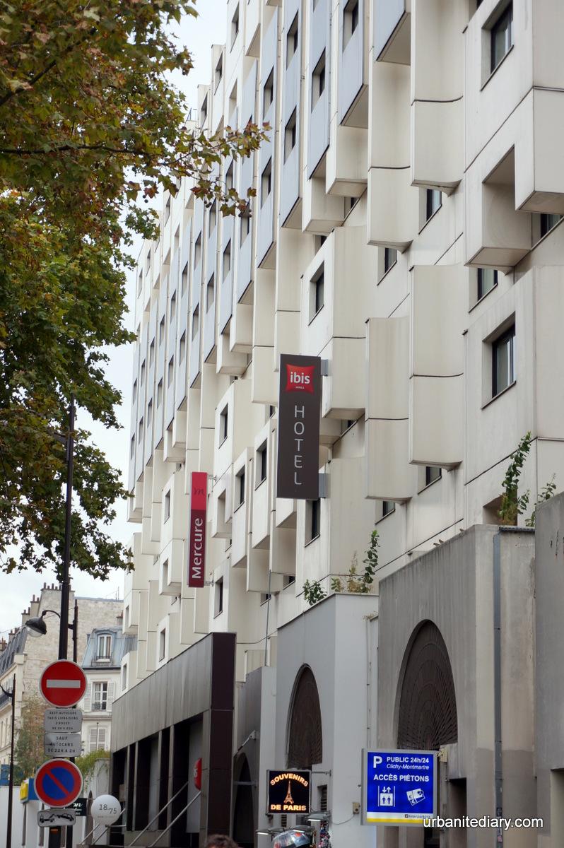Paris 101 Hotel Ibis Paris Montmartre 18 232 Me Sassy