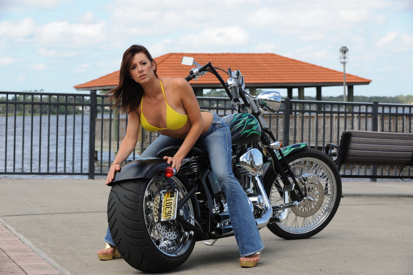 Bikes with hot girls, perfect teen sex pics