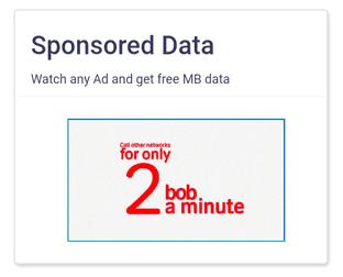 sponsored data ad