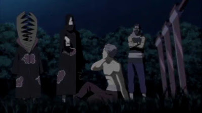 Hidan direkrut oleh Kakuzu dan Orochimaru