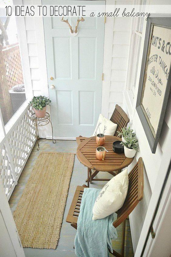 10 idee per arredare piccole terrazze - Home Shabby Home ...