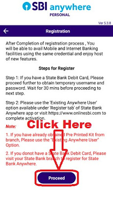 how to login to sbi anywhere app