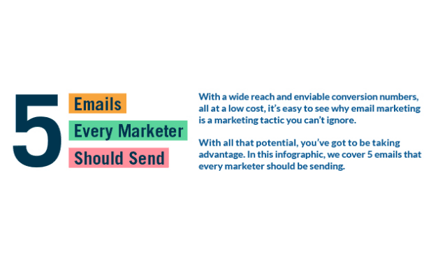 5 Emails Every Marketer Should Send