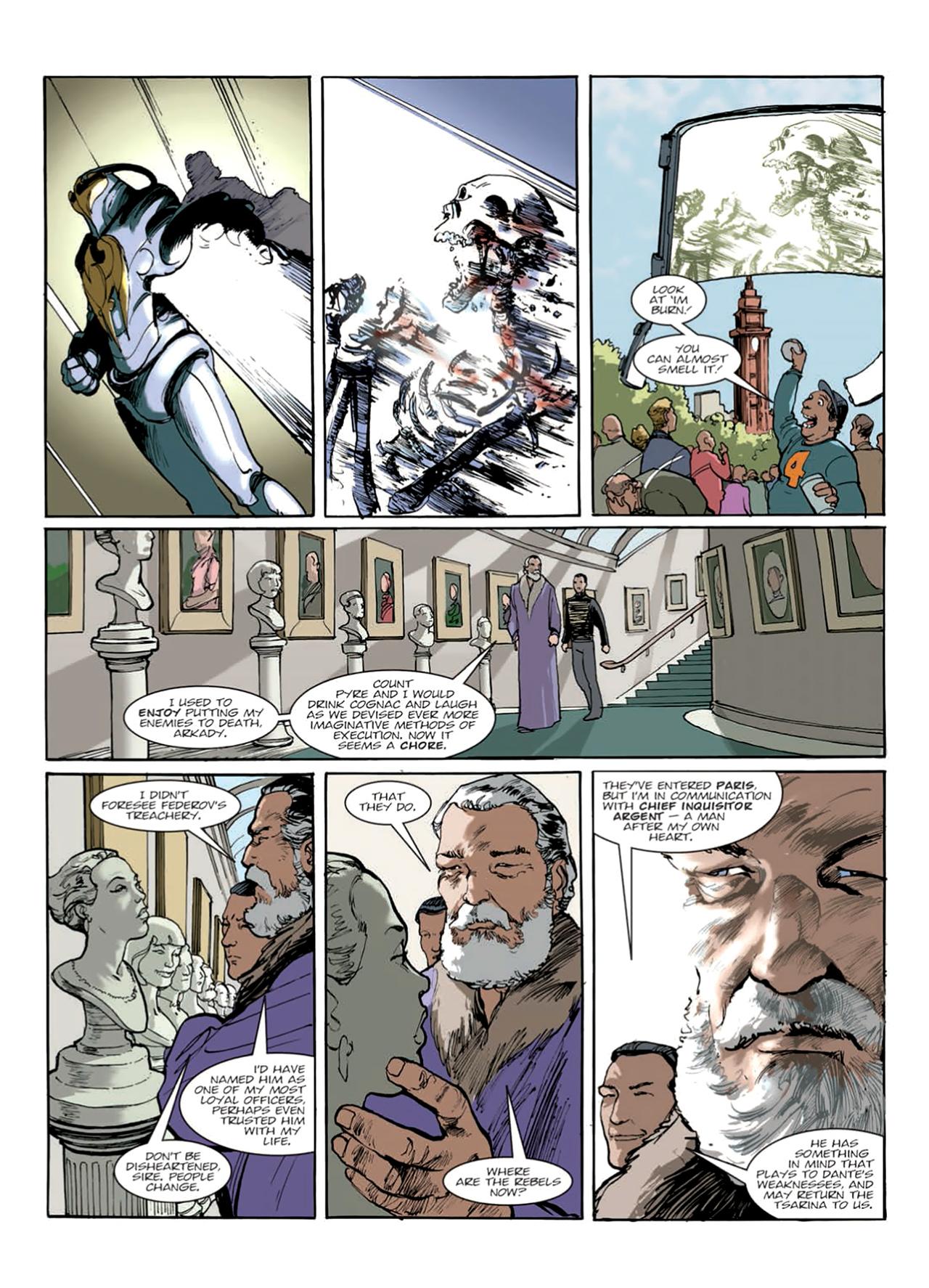 Read online Nikolai Dante comic -  Issue # TPB 9 - 136
