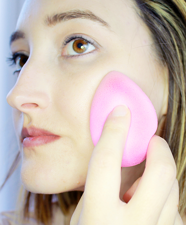 How-To Use a Beauty Blender