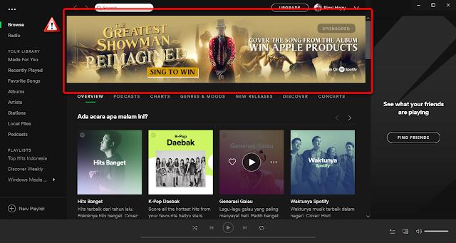 Cara Ampuh Menghilangkan Iklan Di Spotify PC 2018