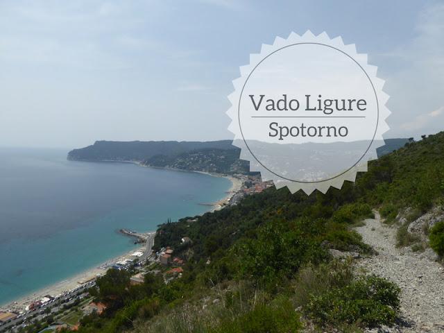 Trekking da Vado Ligure a Sportorno: panorama di Spotorno