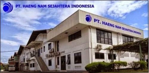Lowongan Kerja Posisi Operator Produksi  PT Haeng Nam Sejahtera Indonesia