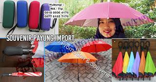 Payung Lipat, Payung Standar, Payung Golf Promosi Murah di Tangerang