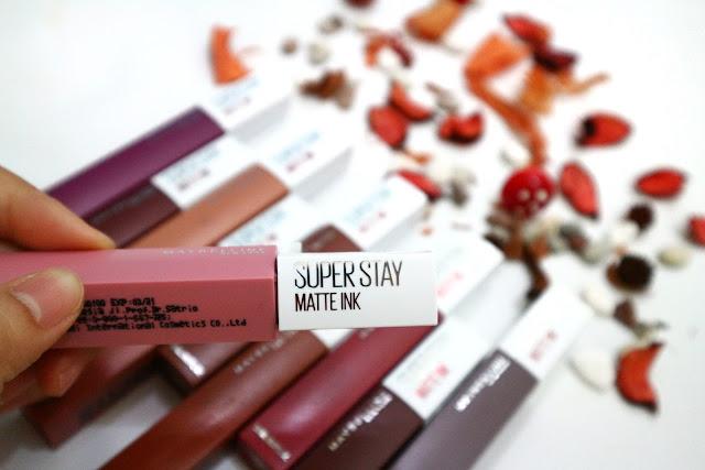 Maybelline SSMI, Lipstik yang Tahan Lama Seharian