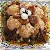 طبق لحم بالاجاص و مطهي بزيت الاركان مختلف و غني