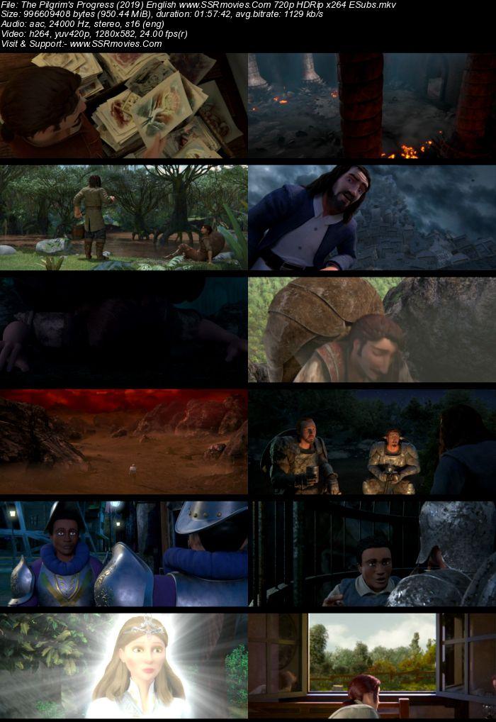 The Pilgrim's Progress (2019) English 720p HDRip x264 950MB ESubs Movie Download