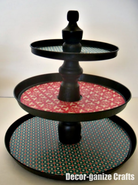 Inexpensive Tiered Cake Stands