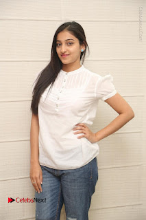Tollywood Telugu Actress Mouryaani Latest Stills in Ripped Jeans at Intlo Deyyam Nakem Bhayam Movie Interview  0027.JPG