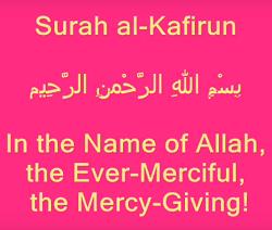 Surat Al Kafirun termasuk golongan surat Surat | Surah Al Kafirun Arab, Latin dan Artinya