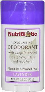 desodorante sin aluminio iHerb Nutribiotics