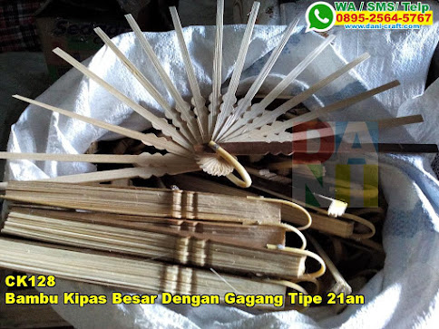 Harga Bambu Kipas Besar Dengan Gagang Tipe 21an