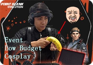 Cara Mengikuti Event Low Budget Cosplay PB Garena