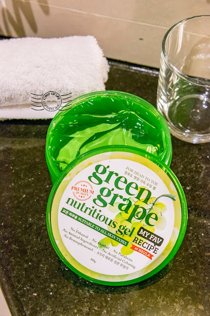 My Fav Recipe by Neula Green Grape Nutritious Gel For Head to Toe
